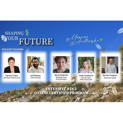 EXCLUSIVE INTENSIVE 3-in-1 ONLINE CERTIFIED PROGRAM - SHAPING YOUR FUTURE WITH RECORDINGS in USD 1.300