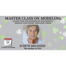 Master Class on NLP Modeling with Judith DeLozier with recording in USD 85